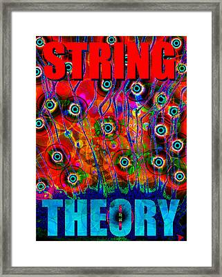 String Theory Framed Print