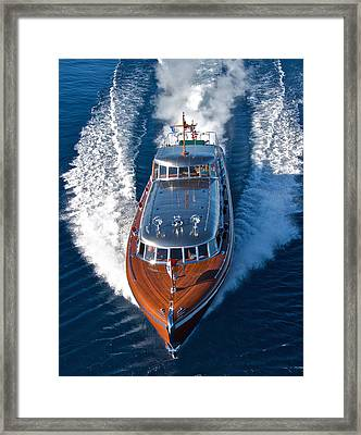 Stunning Thunderbird Framed Print by Steven Lapkin