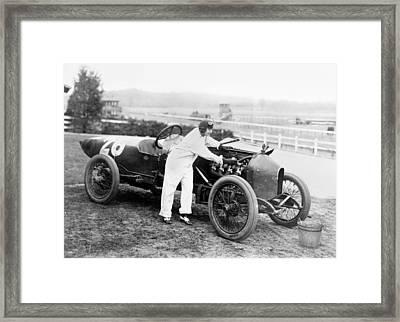 Stutz Racecar, 1916 Framed Print