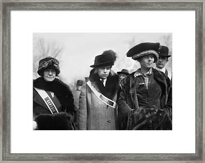Suffragettes, 1913 Framed Print by Granger