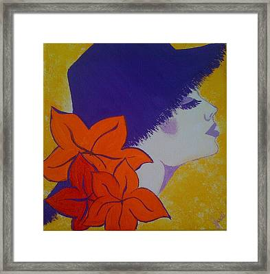 Framed Print featuring the painting Summer Beauty by Judi Goodwin