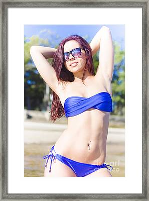 Summer Beauty Framed Print by Jorgo Photography - Wall Art Gallery