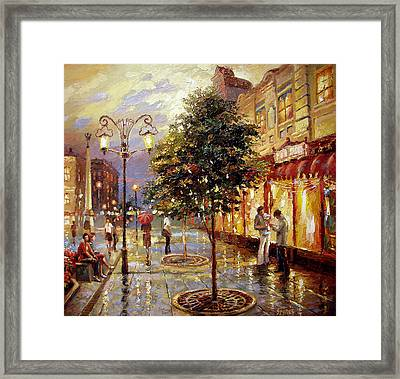 Summer Evening Framed Print by Dmitry Spiros