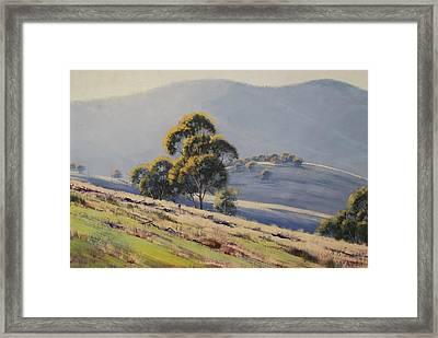 Summer Landscape Framed Print by Graham Gercken