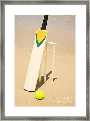 Summer Sport Framed Print