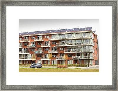 Sun City A Suburb Of Heerhugowaard Framed Print by Ashley Cooper