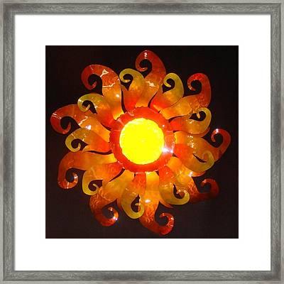 Sun Light Framed Print