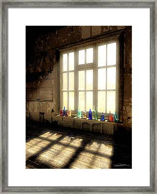 Sun Patch Framed Print by Cynthia Decker