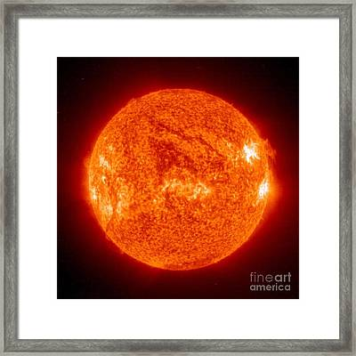 Sun Framed Print by Science Source