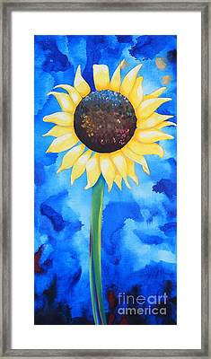 Sunflower 2 Framed Print