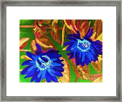 Sunflower Framed Print by Vicky Tarcau