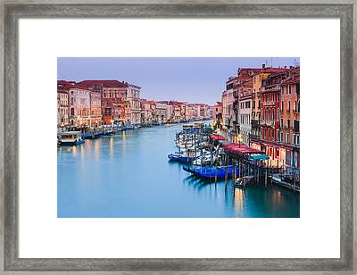 Sunrise In Venice Framed Print by Henk Meijer Photography