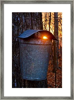 Sunrise In Vermont Framed Print by Jim Boardman