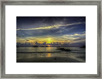 Sunrise Framed Print by Mario Legaspi