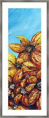 Framed Print featuring the painting Sunrise by Meaghan Troup