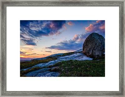 Sunsets Witness Framed Print