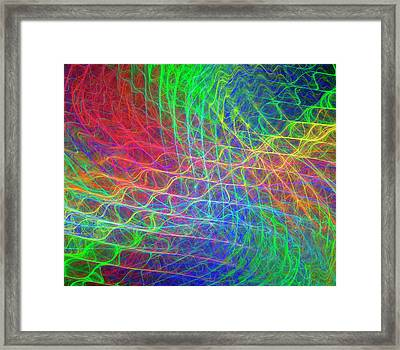 Supersymmetry Conceptual Artwork Framed Print by David Parker