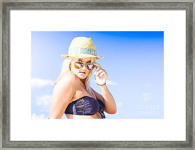Surprised Framed Print by Jorgo Photography - Wall Art Gallery