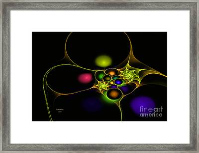 Surreal Fractal Framed Print