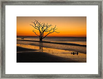 Surreal Sunrise Framed Print by Serge Skiba