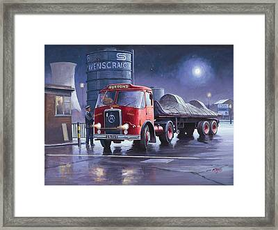 Suttons Atkinson. Framed Print by Mike  Jeffries