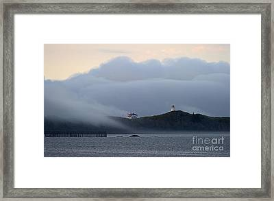 Swallowtail Lighthouse... Framed Print by Nina Stavlund