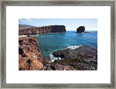 Sweetheart Rock Framed Print by Jenna Szerlag