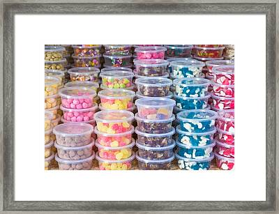 Sweets Framed Print by Tom Gowanlock