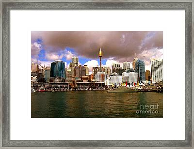 Sydney Australia Framed Print by John Potts