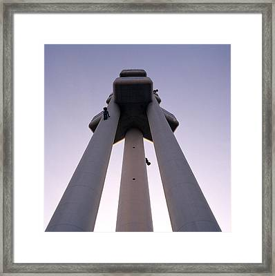 Urban Symmetry Framed Print by Shaun Higson