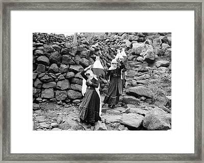 Syria Druze Women, 1938 Framed Print by Granger