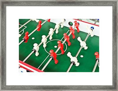 Table Football Framed Print