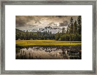 Tahoe Spring Framed Print
