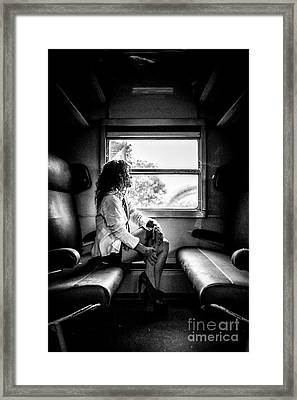 Take A Litte Trip Framed Print