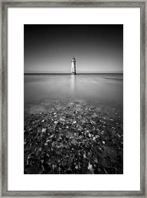 Talacre Lighthouse Framed Print by Dave Bowman