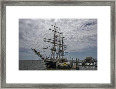 Tall Ship Gunilla Framed Print by Dale Powell
