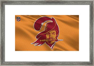 Tampa Bay Buccaneers Uniform Framed Print by Joe Hamilton