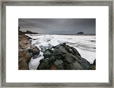 Tantallon Castle Framed Print by Keith Thorburn LRPS