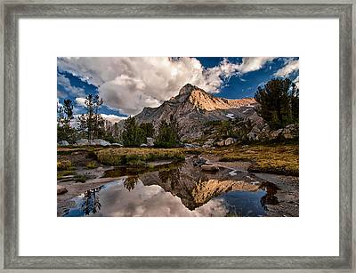 Tarn Reflection Framed Print by Cat Connor