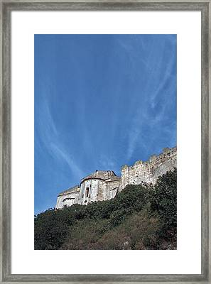 Tarquinia The Walls And The Apse Framed Print