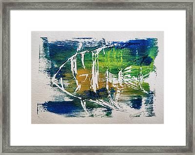 Technicolor Fish Framed Print by Patricia Januszkiewicz