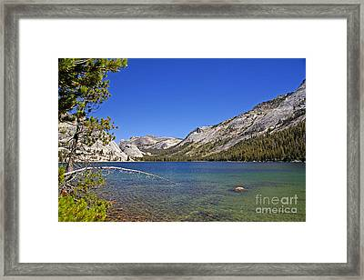 Tenaya Lake Framed Print