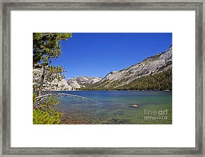 Tenaya Lake Framed Print by Rod Jones