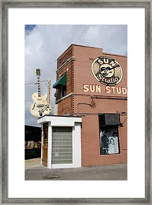 Tennessee, Memphis Framed Print