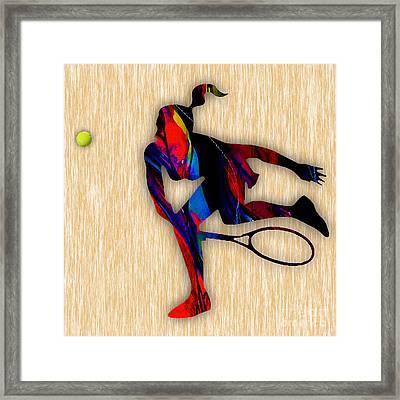 Tennis  Framed Print by Marvin Blaine