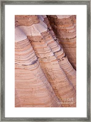 Tent Rocks Framed Print by Steven Ralser