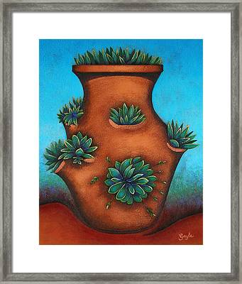 Terracotta I Framed Print