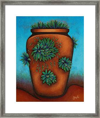 Terracotta II Framed Print