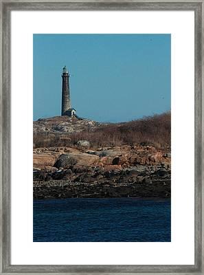 Thatcher Island Framed Print
