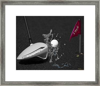 The 19th Hole Framed Print